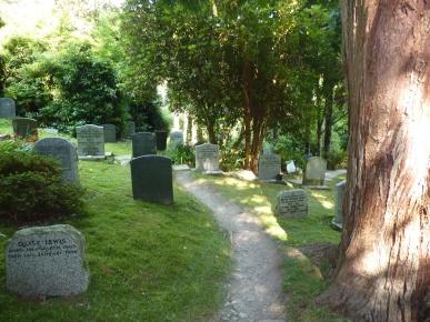 Cimitero di St. Just in Roseland - Cornovaglia